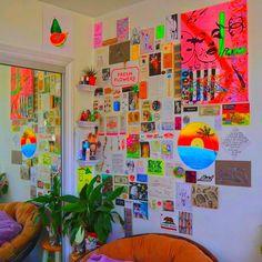 Indie Bedroom, Indie Room Decor, Cute Room Decor, Teen Room Decor, Estilo Dope, Estilo Indie, Cute Bedroom Ideas, Room Ideas Bedroom, Bedroom Decor