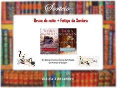 ALEGRIA DE VIVER E AMAR O QUE É BOM!!: [DIVULGAÇÃO DE SORTEIOS] - Sorteio Nora Roberts