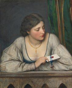 Eugene de Blaas: Von the Love Letter