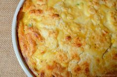 Joyously Domestic: Chicken and Biscuit Bake