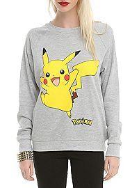HOTTOPIC.COM - Pokemon Pikachu Jump Girls Pullover Top