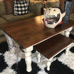 tamztamz added a photo of their purchase Round Pedestal Dining Table, Trestle Dining Tables, Particle Board, Wood Planks, Farmhouse Table, Wood Species, A Table, Hardwood, Furniture