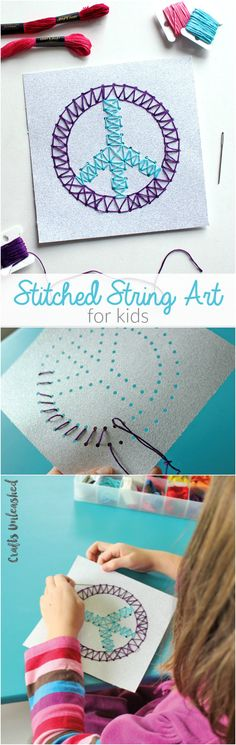 Kids Stitched String
