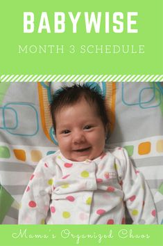 Babywise Schedule Month 3 – Mama's Organized Chaos Babywise Schedule Month 3 Babywise schedule for baby around 3 months of age. On this page you'll find schedules, information on naps, nighttime sleep, and more! Baby Schedule, Toddler Schedule, 3 Month Old Schedule, Sleep Schedule, Newborn Schedule, Before Baby, After Baby, Baby Wise, Baby Supplies