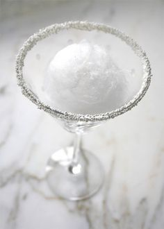 Winter Wedding Signature Cocktail Ideas | Snowball Martini | Brides.com