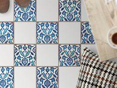 Fliesenaufkleber für den Boden - Design: Hamam-Vibes