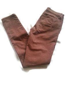 J. Crew Skinny Pants Jeans SZ 25 Jeans Retail $89.00 Matchstick Corduroy Leg  #JCrew #Skinny #jeans