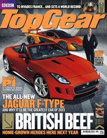 Top Gear Magazine Subscription, £35.50.