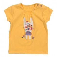 organic cotton bunny t-shirt front