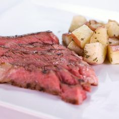 THE CHEW: Spicy Grilled Rib Eye Rosemary Potatoes (Brian)