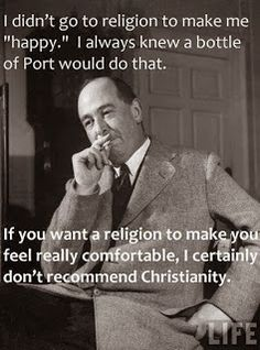CS Lewis This has been my experience. The Bible has had too many revisions and the religion is built on beliefs stolen from other religions. Raised Baptist, studied the Bible. Great Quotes, Quotes To Live By, Me Quotes, Inspirational Quotes, The Words, Cool Words, 5 Solas, Just Keep Walking, Soli Deo Gloria