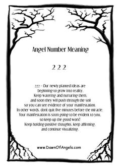 Ángel number meaning 2