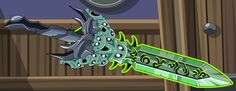 This is Frost Wyrm Blade