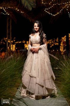 Destination wedding in Fujairah with bride in orange Sabyasachi lehenga Party Wear Indian Dresses, Indian Bridal Outfits, Indian Bridal Fashion, Bridal Dresses, Wedding Outfits, Lehenga Gown, Lehnga Dress, Lehenga Blouse, Bridal Dress Design