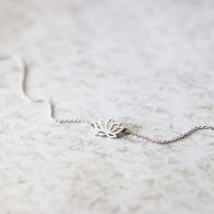 Lotus necklace, dainty lotus necklace, flower necklace, yoga jewelry, minimalist jewelry ----------------------------------------------------------------------------- Untouched by the impurity, lotus symbolizes the purity of heart and mind and also represents long life, health, honor and good luck Lotus Necklace, Flower Necklace, Necklace Lengths, Yoga Jewelry, Heart And Mind, Flower Pendant, Minimalist Jewelry, Perfume