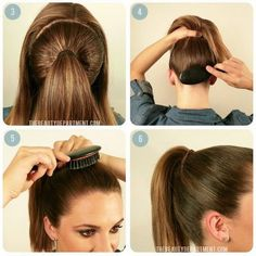 Perfect Summer Ponytail Hairstyle For Medium Hair