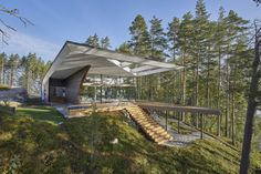 The Wave House: A New Generation Log Home in Finland