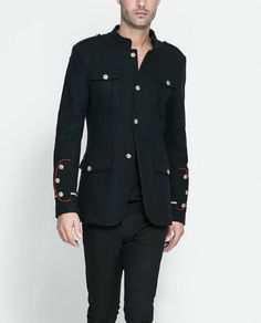 Military blazer by Zara