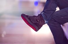 sneakers   Red Bottoms on. Christian Louboutin. #sneakers