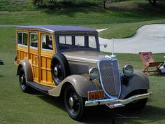 1937 Ford Woodie Wagon