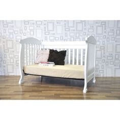 $250 DaVinci Jacob 4 in 1 Crib with Toddler Rail - White.Opens in a new window