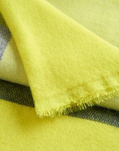 Berkley Bright Lime Check Scarf , Size One Size | Joules UK