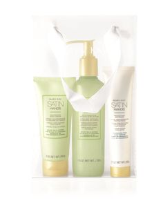 New Satin Hands scent!  Satin Hands Pampering Set from Mary Kay revitalizes and rejuvenates the look of hands, so they feel renewed and instantly look healthier. Learn more.