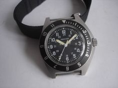 Gallet & Co. ADANAC Military Wrist Watch in 1988 #Adanac #Sport
