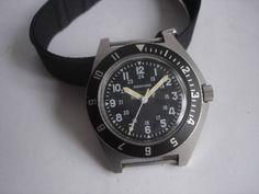 Gallet & Co. ADANAC Military Wrist Watch in 1988 #Adanac #Sport
