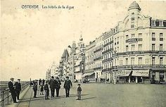 Belgium Ostende 1908 Hotel Royal Belge Collectible Antique Vintage Postcard Belgium Ostend Ostende Circa 1908 Hotel Royal Belge and other...