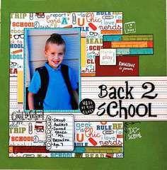 Scrapbook.com Layout Projects: School