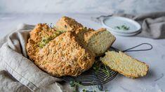 Soda bread: Natronbrød med ost og løk