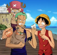 Funny and inspirational quotes from the anime, One Piece