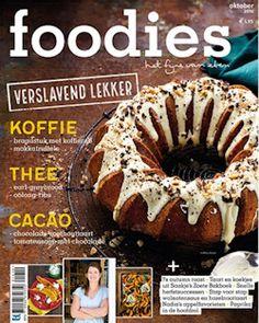 3x Foodies € 15,-: Foodies: hét magazine voor foodies. Met iedere maand bijzonder maar maakbare recepten, de nieuwste snufjes en de leukste kooktips en eetweetjes.