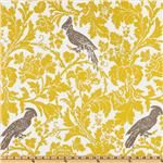Premier Prints Barber Slub Yellow/Taupe  Compare At: $13.99  Our Price: $8.48
