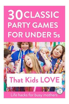 Party games for children . 30 easy to run traditional birthday party games for kids. Princess Birthday Party Games, Easy Party Games, Birthday Party Games For Kids, Fun Games For Kids, Games For Girls, Birthday Parties, Dancing Games For Kids, Princess Games, 5th Birthday