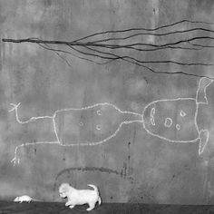 """""""Place of the upside down"""" by Roger Ballen. """"It is difficult to explain this place except that I think it exists in some way or another in most people's minds."""""""