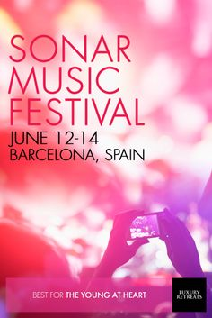 Sonar Music Festival, #Barcelona: For its 10th anniversary, Sonar Music Festival is showcasing some of electric dance music's biggest acts. #eventsworthtravelingfor