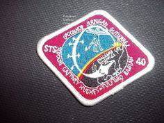 NASA Space Shuttle Mission STS-40 1991 Vintage Patch NEW  Measure approx 3 x 2 1/2    Please see all pictures. Ask any and all questions before bidding/purchasing. I am a reliable seller. I have been selling online for years. I was away from selling for a few years due to health reasons and my prior id had numerous positive feedback. I am selling my sister-in-laws estate for the family. She was a HUGE NASA fan and had a close friend who worked there and could get her into many shutt...