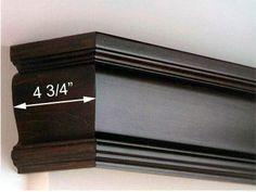 Image detail for -Classique Wood Valance, Valance for Roller Blinds, Valance for Panel ...