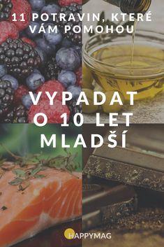 11 jídel, díky kterým budete vypadat o 10 let mladší Health And Beauty, Blueberry, Health Fitness, Let It Be, Food And Drink, Fruit, Drinks, Drinking, Blueberries