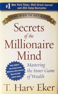 Here is a book that explored the difference between a person who is poor and the person who is rich. He explored the mindsets of each one and developed 17 wealth files. Check this book out ASAP.