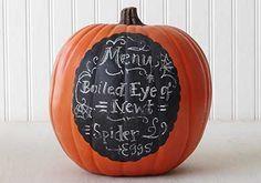 Menu Board Pumpkin