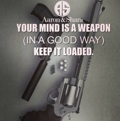 Your mind is a weapon (in a good way) keep it loaded!  Do you keep your mind loaded with Positive Thoughts?  #aaronandshara  Follow  @aaronandshara  Follow  @aaronandshara  Follow  @aaronandshara  Don't be rude type YES Below If You Agree:)! Double tap and tag someone you know will benefit!  #entrepreneur #success #luxurious #rich #millionaire  #millionaires #millionairelifestyle #millionairemindset  #billionaire #billionaireboysclub #billionaires #gentleman  #gentlemansclub #motivation…