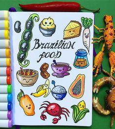 """290 Gostos, 7 Comentários - Ekaterina (@alexkipnis) no Instagram: """"Brazilian food Эта кухня поставила меня в тупик, тк я никогда не была в Бразилии. Но я…"""""""