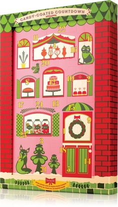 Benefit Cosmetics Candy-Coated Countdown advent calendar is filled with 24 bite-size beauty treasures..