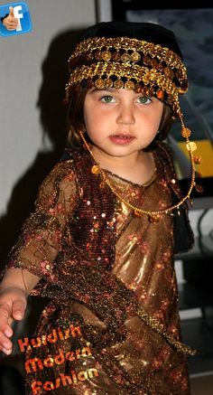 Kurdish clothes for girls.