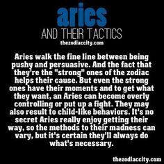 Characteristics of Aries | Angies Horoscope