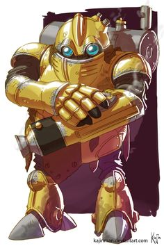 Chrono Trigger Robo by kajinman on DeviantArt