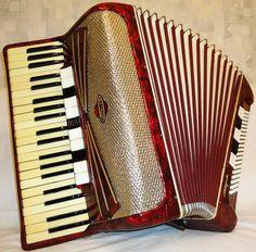 Fine Rare German Piano ACCORDION KÖHLER Migma 120 by Harmony4Life, $740.00